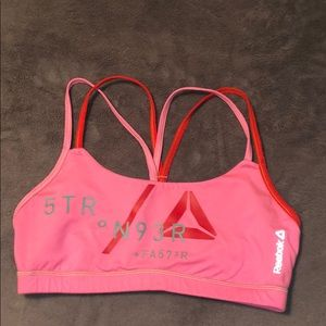 Reebok Crossfit Bra Size Medium